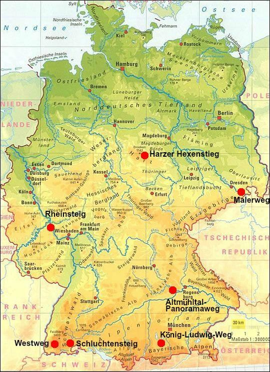 Top Trails Mooiste Langeafstandspaden Duitsland Wandelen