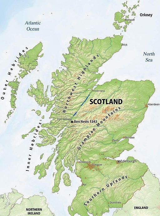 Top Trails Mooiste Langeafstandspaden Schotland Wandelen